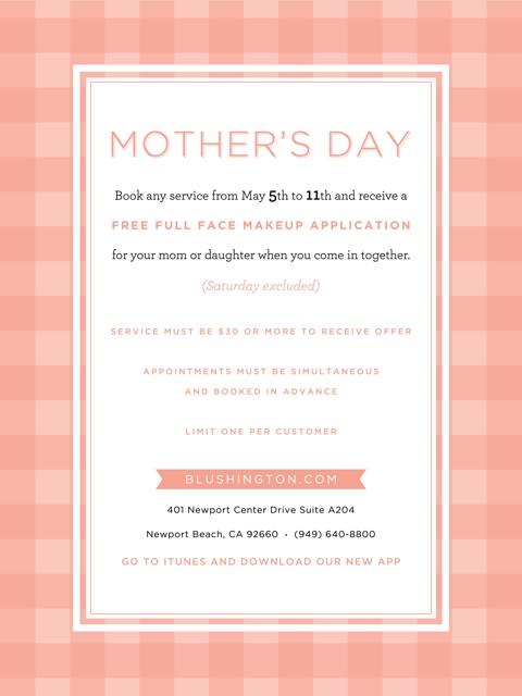 Blushington Mom's Day